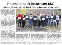 2019_11_14_Internationaler_Besuch_am_BKO_Waltroper_Zeitung